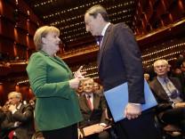 Merkel trifft Draghi