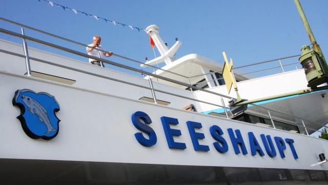 MS 'Seeshaupt' auf Probefahrt