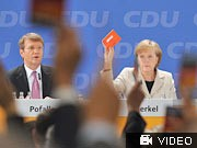 Merkel, Parteitag, CDU, AP