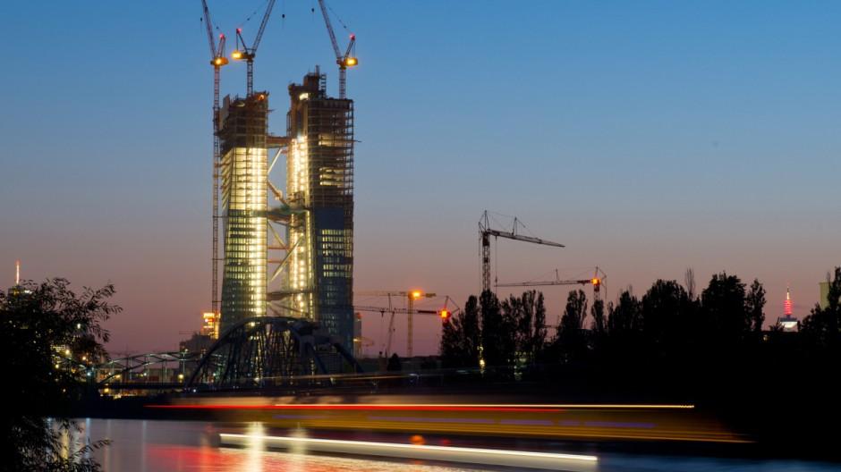 EZB-Neubau in Frankfurt