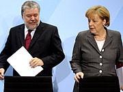 Angela Merkel Kurt Beck Bildungsgipfel