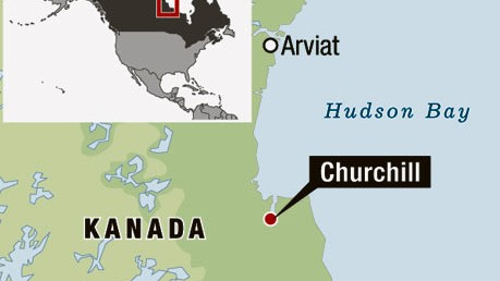 Nordamerika Hudson Bay