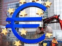 'Angstkasse' der EZB schwillt auf 783 Milliarden Euro an