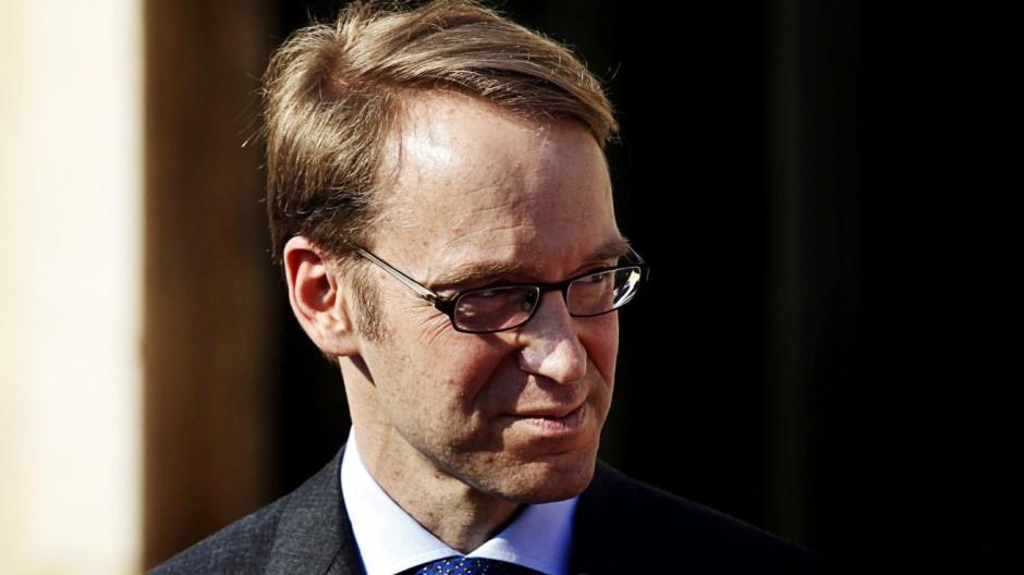 Bundesbank-Praesident Weidmann zur Rolle der Zentralbanken