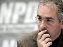 NDR Info: Rechtsextremist Molau verkuendet Ausstieg aus der Szene