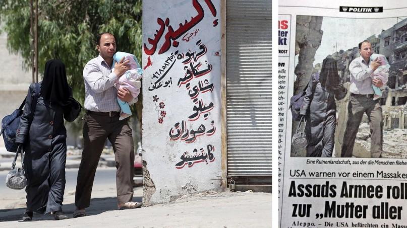 Aufstand in Syrien Berichterstattung über Syrien