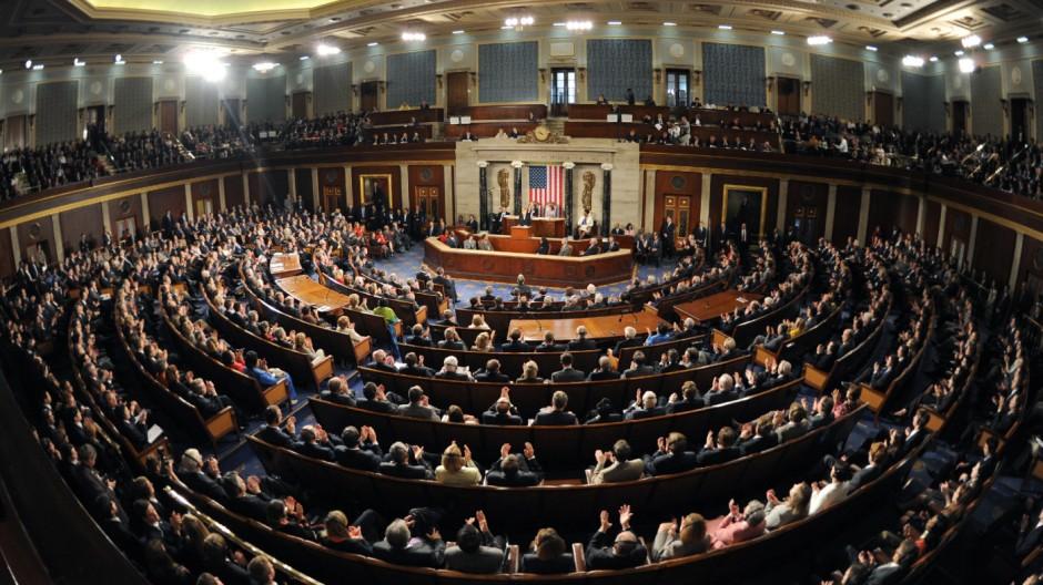 Merkel dankt im Kongress den USA