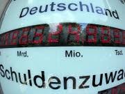 Staatsverschuldung, Staatsfinanzen Deutschlands; dpa