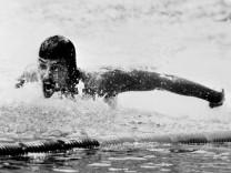 Mark Spitz bei Olympiade 1972