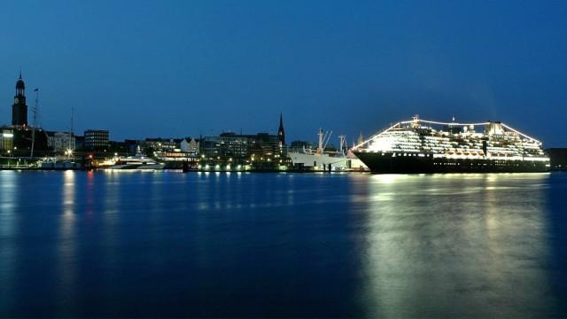 Hamburg Hamburger Hafen Kreuzfahrt Kreuzfahrtschiff