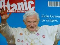 'Titanic' bringt erneut provokantes Papst-Cover