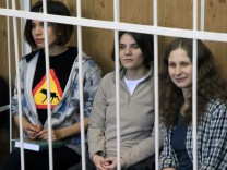 Prozess gegen Pussy Riot
