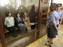 Pussy Riot trial in Moscow