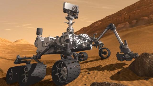 'Curiosity' soll Mars erkunden