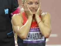 Olympia 2012: Leichtathletik.