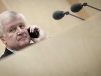 Sorgte mit seinem Vorschlag zum Wahlrecht für Unmut in den eigenen Reihen: Horst Seehofer, CSU-Vorsitzender und bayerischer Ministerpräsident
