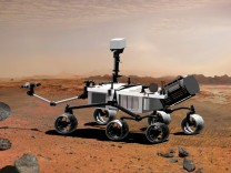 Erkundungsfahrzeug Curiosity auf dem Mars