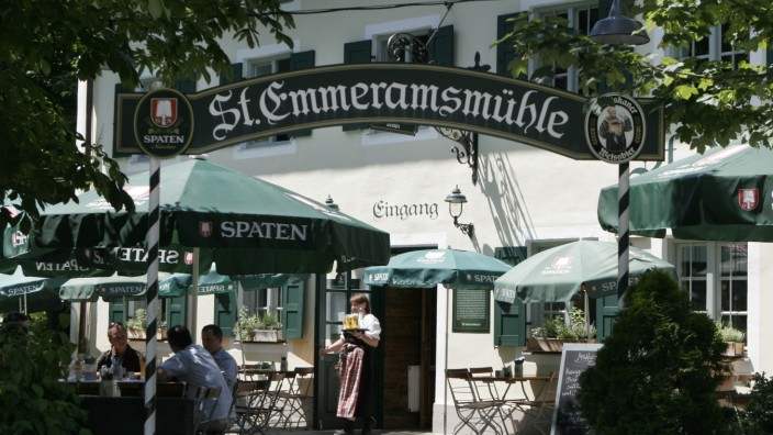Biergarten Emmeramsmühle, 2007