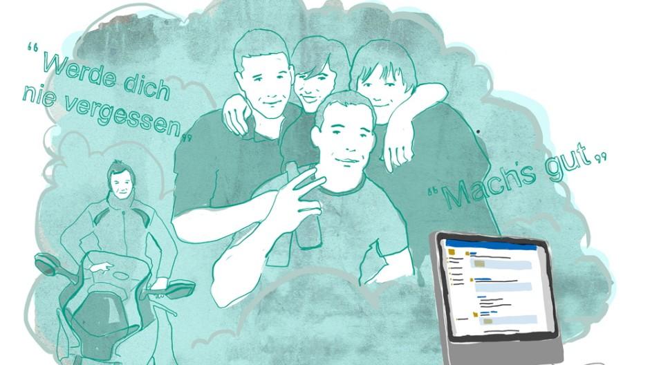 Social Web Digitale Trauerbewältigung