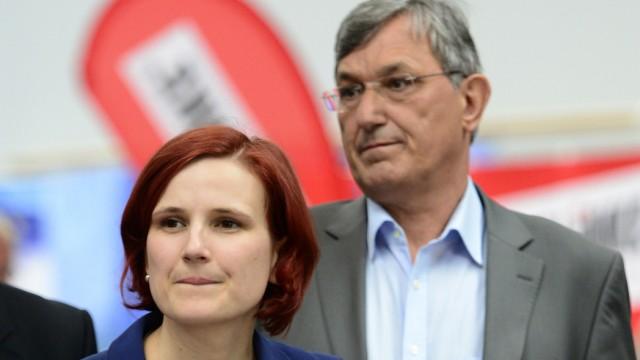 Neue Fuehrung der Linkspartei will mit SPD und Gruenen regieren
