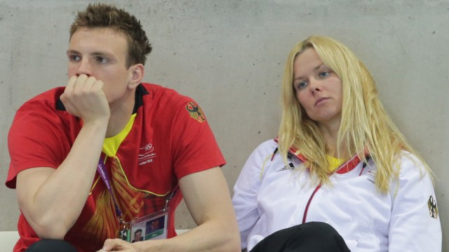 London 2012 - Britta Steffen und Paul Biedermann