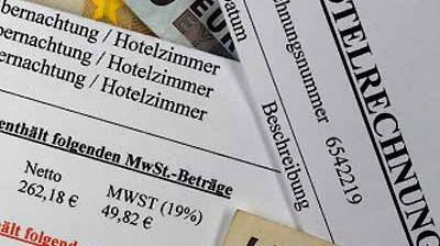 Mehrwertsteuer Mehrwertsteuer für Hotels