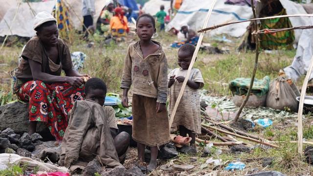 Congo DRC refugees