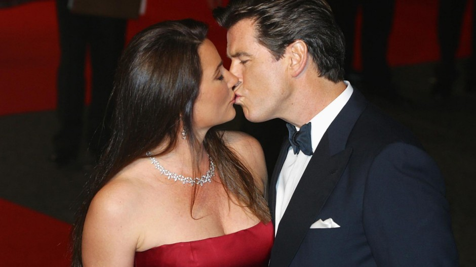 Pierce Brosnan mit Ehefrau Keely Shaye Smith