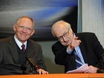 Koalitionsausschuss - Statement Schäuble und Brüderle