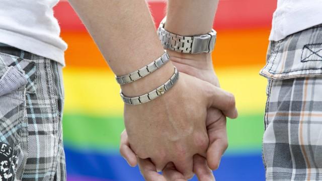 Schröder für steuerliche Gleichstellung homosexueller Paare