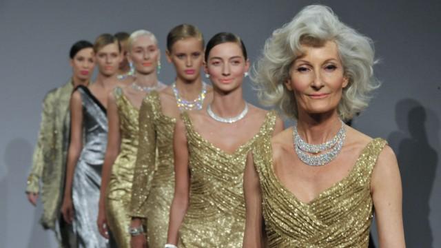 Mode für Senioren Modeindustrie entdeckt Senioren