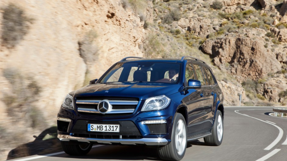Themendienst Auto: Mercedes GL-Klasse