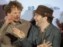 "Kino, Ulmen, Filmpremiere des Rosenmüller-Films ""Wer's glaubt, wird selig"" in München, 2012"