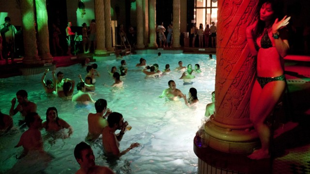 4th Night of Baths in Budapest