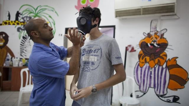 Gas Masks Distributed in Tel Aviv
