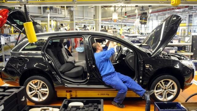 16. Millionster Opel rollt vom Ruesselsheimer Band