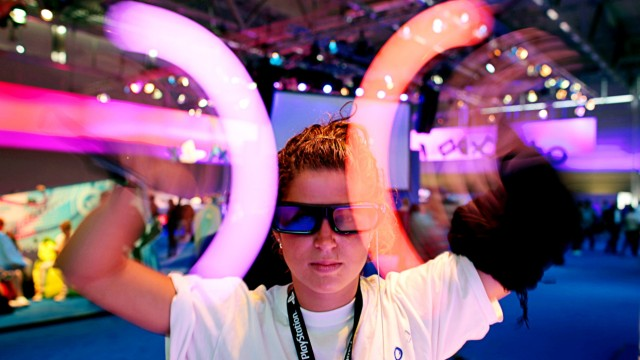 Computerspielmesse Gamescom eröffnet, Köln