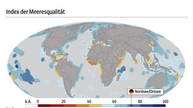 Grafik Weltmeere 2