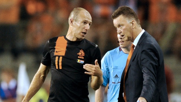 Arjen Robben Louis van Gaal WM-Qualifikation