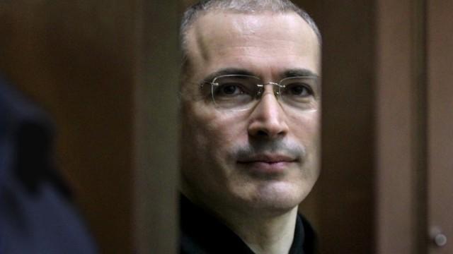 Pussy Riot Brief-Interview mit Chodorkowskij