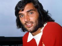 George Best im Trikot von Manchester United