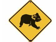 Koala-Warnschild