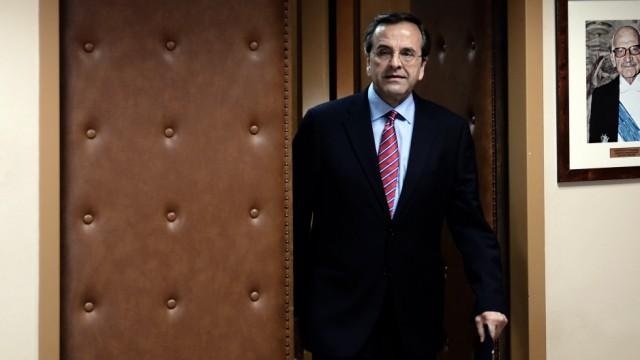 Griechenlands Premier Antonis Samaras
