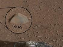 Mars Rover Curiosity testet Laser