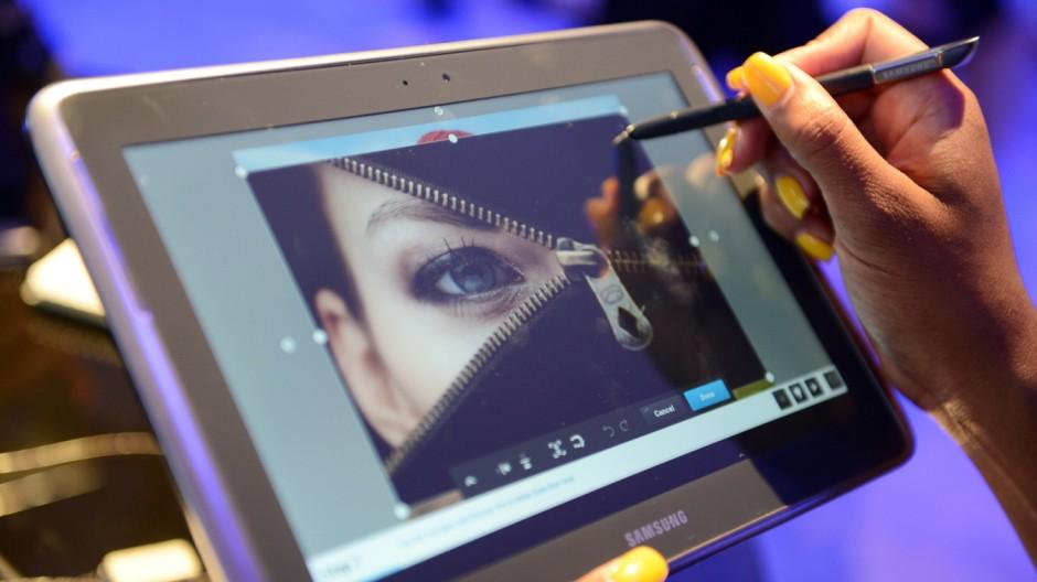 Samsung Samsung Galaxy Note 10.1 im Kurztest