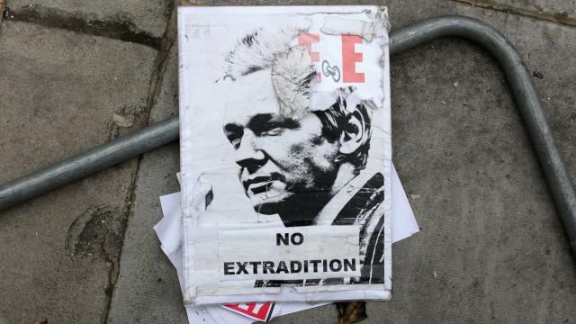 Julian Assange Continue To Seek Asylum In The Ecuadorian Embassy