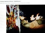 Sarkozy; Mauerfall; Berlin; AFP