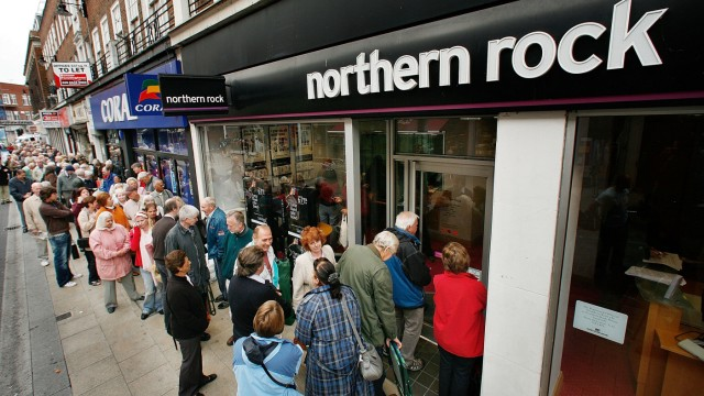 (FILE) Northern Rock Bank Nationalised by UK Government