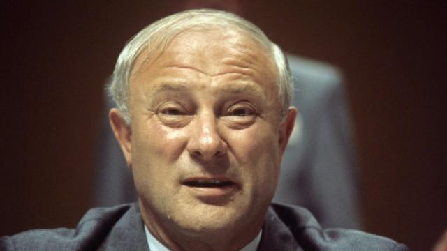 Georg Leber gestorben