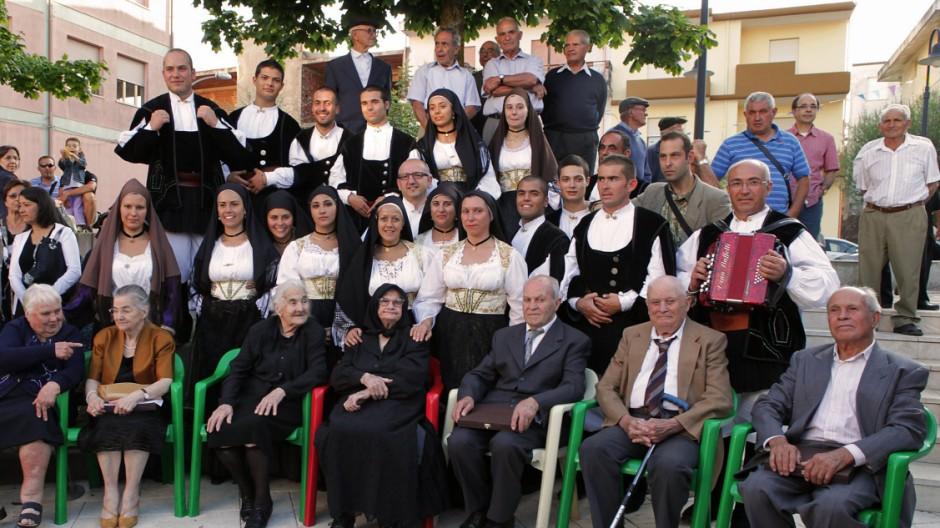 Sardinien Älteste Familie der Welt auf Sardinien